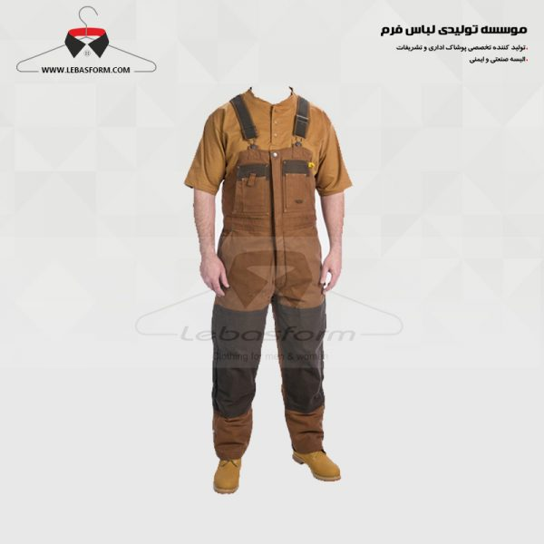 لباس کار دوبنده DBD042